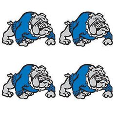 Get ready to ruff up the competition with these bulldog tats!