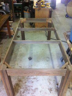 Sinker Cypress Lumber   Sinker Cypress farm table - by Ronnyd @ LumberJocks.com ~ woodworking ...