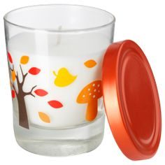 TIMGLAS Scented candle in glass - IKEA- woodland party favors