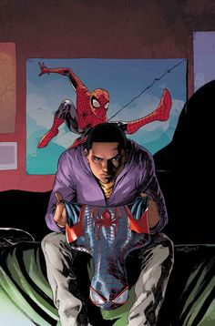 Ultimate Spider-Man #2 by David Marquez people need to read this series!