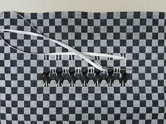 Trançado de Fita em Tecido Xadrez - Clube de Artesanato