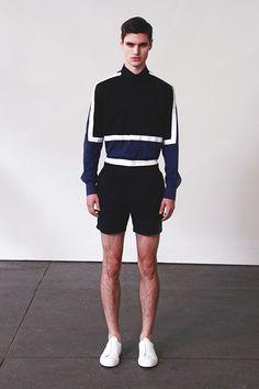 New York Fashion Week   Carlos Campos Spring-Summer 2015 Men's Collection   Model: Ben Lark   Agency: DNA Models