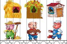 A három kismalac - kifestőkönyv Easy Crafts For Kids, Craft Activities For Kids, Fairy Tale Theme, Fairy Tales, Fairy Tale Activities, Nursery Rhymes Preschool, Preschool Education, Three Little Pigs, Disney Crafts