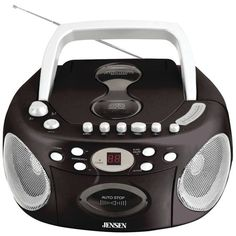 Portable Stereo CD Player with Cassette & AM/FM Radio - JENSEN - CD-540