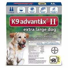 K9 Advantix II Topical Extra Large Dog Flea & Tick Treatment for ONLY $29.21! (Reg.$44.99) SAVE 35% - http://supersavingsman.com/k9-advantix-ii-topical-extra-large-dog-flea-tick-treatment-29-21-reg-44-99-save-35/
