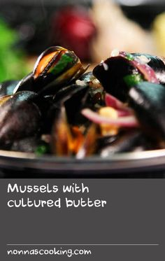 Mussels with cultured butter Clam Recipes, Liver Recipes, Dishes Recipes, Tasty Dishes, Seafood Recipes, Paleo Recipes, Best Fish Batter, Fish Batter Recipe, Australian Recipes