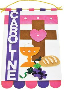 First communion banner kit 9 x 12 a few of my favorite first communion banner kit 9 x 12 a few of my favorite things pinterest communion banners and church banners solutioingenieria Image collections