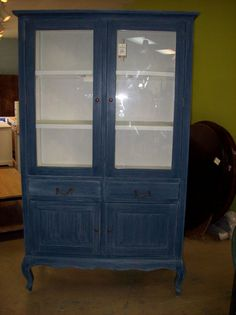 Cabinet with Glass Doors (SCC053A) $548
