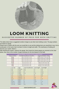50 Ideas Knitting Loom Socken Slipper Socks For 2019 Knitting Loom Socks, Loom Knitting Stitches, Spool Knitting, Knifty Knitter, Loom Knitting Projects, Knit Socks, Knitting Tutorials, Vintage Knitting, Round Loom Knitting