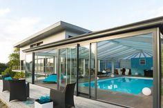 Une véranda de piscine : 20 belles vérandas pour agrandir votre maison - Linternaute