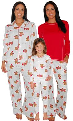 685df75c1d Karen Neuburger Gingerbread Man Mommy   Me Matching Pajamas AD Matching Christmas  Pajamas