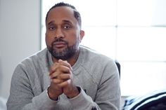 Kenya Barris, the creator and writer of Black-ish, in his office on the ABC lot in Burbank, Calif., in December. Black-ish is now in its second season, airing on ABC.