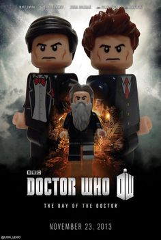 Poster for the Doctor Who 50th Anniversary special. via @Loki_Lego on Twitter. #dayofthedoctor