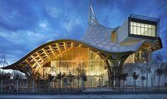 Centre Pompidou Metz, designed by Shigeru Ban & Jean de Gastines, Metz/France