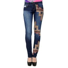 Precisely crafted for modern new-age women who keeps the balance of art and style in her daily life. Tribal Chronicles Jeans is for those who have all the right proportions, figures and measurements in mind. Get it from : http://bit.ly/1SUX2te