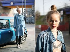 Makes me want to customise my own denim jacket!