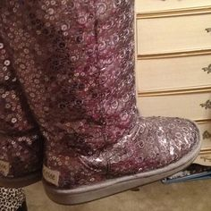 "Sparley Tall boots (uggs) from Justice ""Just for girls!"":D"