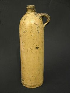 stoneware bottle. I just bought one of these at antique store.