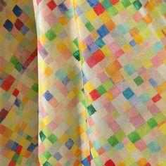 Kesä ja kankaan keveys ☀️ @supermukava @muka_va #eerikaskirt #pixel #print #cottonsilk #ss16