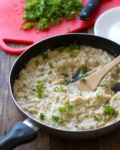 Creamy Cauliflower Garlic Rice