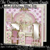 The Dressing Room Square Ornate Arched Window Mini Kit