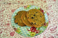 Glutten Free PB & chocolate chip cookies