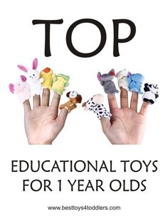TOP 10 Educational Toys for 1 year old boys and girls