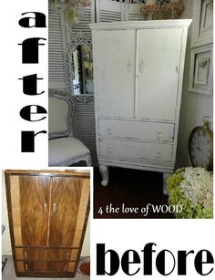 4 the love of wood: HOW TO CHANGE THE SHAPE OF A CABINET