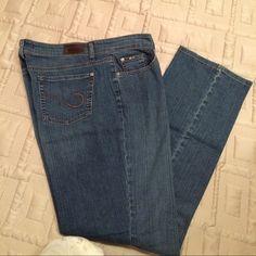 Cambio Norah boot cut jeans size 14 Cambio Norah boot cut jeans size 14. 98%- cotton/2%- elastane Cambio Jeans Boot Cut