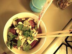ohdeardrea: Recipe: Vegan Asian Noodle Soup // Vegan Pho
