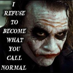 Joker - During the a failed stand-up comedian is driven insane and turns to a life of crime and chaos in Gotham City while becoming an. Joker Qoutes, Best Joker Quotes, Badass Quotes, Batman Joker Quotes, Movie Quotes, True Quotes, Motivational Quotes, Inspirational Quotes, Quotes Quotes