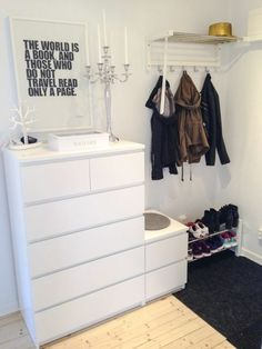 40 Ikea Malm Dresser Hacks - Furniture Home Decor Ikea Malm Dresser, Bedroom Dressers, Ikea Bedroom, Bedroom Decor, Bedroom Ideas, Ikea Drawers, Closet Drawers, Ikea Closet, Ikea Room Ideas