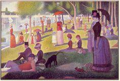 Sunday Afternoon on the Island of La Grande Jatte -Georges Seurat