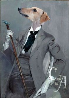 """"""" a greyhound in this bespoke suit"""" or could it be Robert de Montesquiou - one of the chief models for Baron de Charlus"""