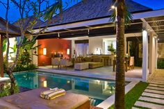 Contemporary Pool Villas | Chandra Bali Villas |Seminyak