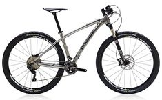 Polygon Bikes Siskiu29 9 Hardtail Mountain Bicycles Polished Silver 175Medium -- Click image for more details.