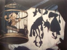 Pinocchio (1940). Concept pieces by Gustaf Tenggren.