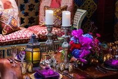 Make Way For This Aladdin-Inspired Wedding Reception