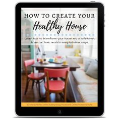 six sections of step by step work to create a house that has less toxins and healthier indoor air quality #chemicalfree #lowtoxinhome #healthylivingideas