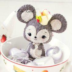 cute mouse face