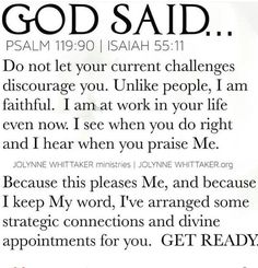 🔥BY THIS TIME NEXT WEEK, many will testify! I declare this into the atmosphere now in Jesus' name! For the Lord is mobilizing your… Prayer Scriptures, Faith Prayer, God Prayer, Prayer Quotes, Bible Verses Quotes, Spiritual Quotes, Faith Quotes, Positive Quotes, Holy Week Quotes Thoughts