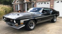1971 Ford Mustang Boss 351 Fastback | F153 | Dallas 2020 1971 Ford Mustang, Mustang Cars, Shelby Gt500, Kansas City, Cool Cars, Dallas, Automobile, Auction, Mustangs