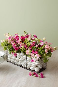 Easter Basket Centerpiececountryliving