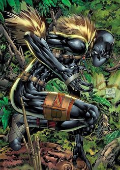 Black Panther (Shuri) With the original BlackPanther busy being king her sends his protegee to be trained by the team that help him be the man he is today.