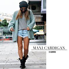 Maxi-cardigan