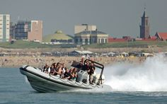 There are plenty of things to do if you are holidaying in Scheveningen. You can get a tan, go for a walk, laze about... but if you suddenly feel the need for some excitement and sensation, you might like to take a ride in a super-fast RIB (Rigid Inflatable Boat).