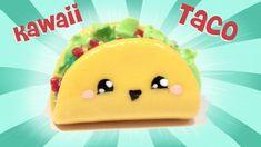 ◕‿◕ Taco! Kawaii Friday 109 - Tutorial in Polymer clay! (+playlist)