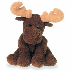 "This little moose looks an awful lot like our little friend in ""My Maine!"" Sweet Marlon Moose Sweet Rascals Stuffed Animal by Mary Meyer .i`m 46 and I want this. Moose Nursery, Woodland Nursery, Moose Pictures, Black Friday Toy Deals, Moose Decor, Wishes For Baby, Pet Gifts, Baby Items, Plush"