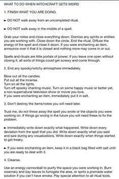 Witchy Tips & More: For Baby Witches & Broom Closet Dwellers - Random Tips & Tricks pt.II - Page 3 - Wattpad Page 3 Read Random Tips & Tricks pt.II from the story Witchy Tips & More: For Baby Witches & Broom Closet Dwellers by _. Wiccan Witch, Magick Spells, Wicca Witchcraft, Wiccan Altar, Tarot, Witchcraft For Beginners, Witch Board, Baby Witch, Eclectic Witch