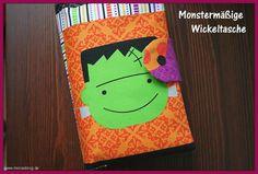 Monster-Wickeltasche